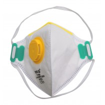 YT-74956 DISPOSABLE DUST MASK FFP2 VALVE FOLDED