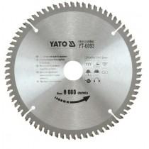 YT-6091 TCT SAW BLADE FOR ALUMINIUM