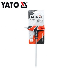 T-HANDLE HEX KEY WITH BALL YT-05588