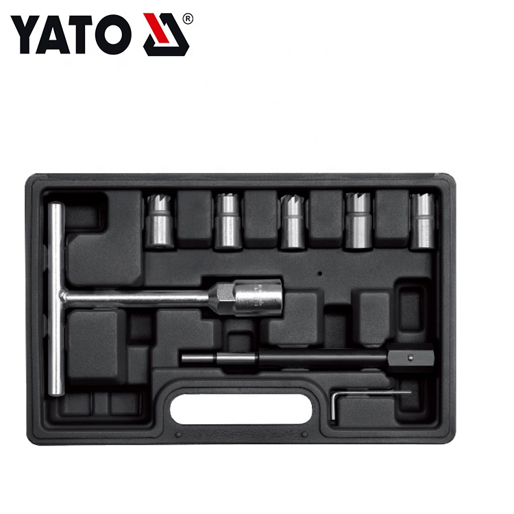 Customized Logo Cleaning Injector Nozzle Tool Diesel Injector Seat Cutter Set YT-17625