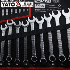 Professional Tool Set 25Pcs Wrench Combination Spanner Set