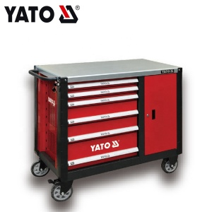 YATO Cheap Price Workshop & Box Movable Tool Trolly OEM Mobile Workbench
