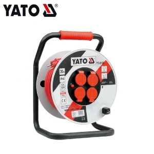 Electric Extension Cable Roll Cable Reel 30M Yato YT-8106