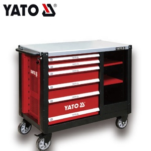 YATO Hot Selling Steel Mobile Professional Drawer Workbench Tool Bag,Tool Box & Cabinets