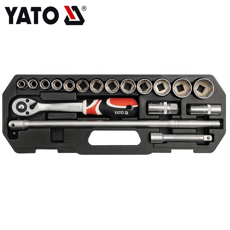 YATO Comercio por xunto de chaves de rosca para uso pesado Conxunto de casquillos Prezo por xunto 1/2