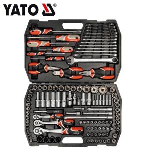 YATO Hand Tools Auto Repair Wrench Socket Tool Set 126Pcs
