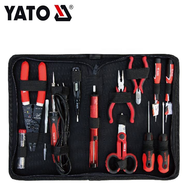 YATO HAND TOOLS COMPLETE TOOL BOX SET CAR REPAIR TOOL SET 13 PCS YT-39007