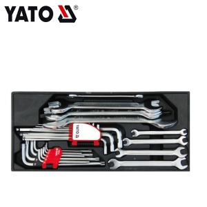 YATO PVC TRAY WITH 26PCS SPANNER & HEX KEY SET YT-55452