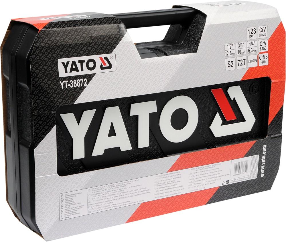 YATO TOOL SET  SOCKET SET 1/4