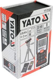 YATO YT-73125 Fabrik bietet hochpräzises LASER DISTANZMESSGERÄT 40M
