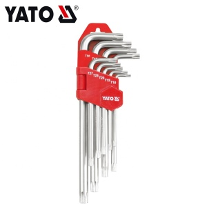 9PCS  T10 - T50 CR-V High quality factory price TORX KEY YT-0511