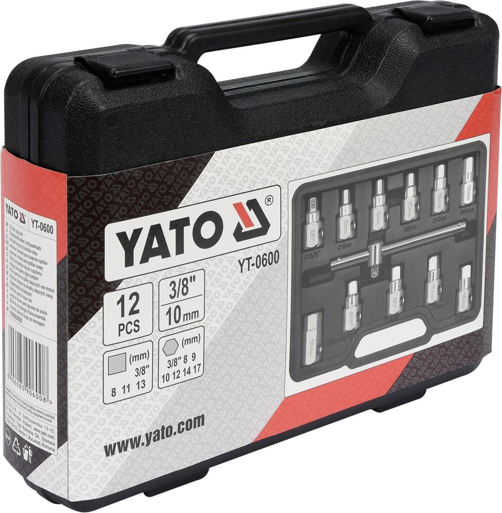 High Quality Auto Repair Tool 11pcs Oil Drain Plug Key Set