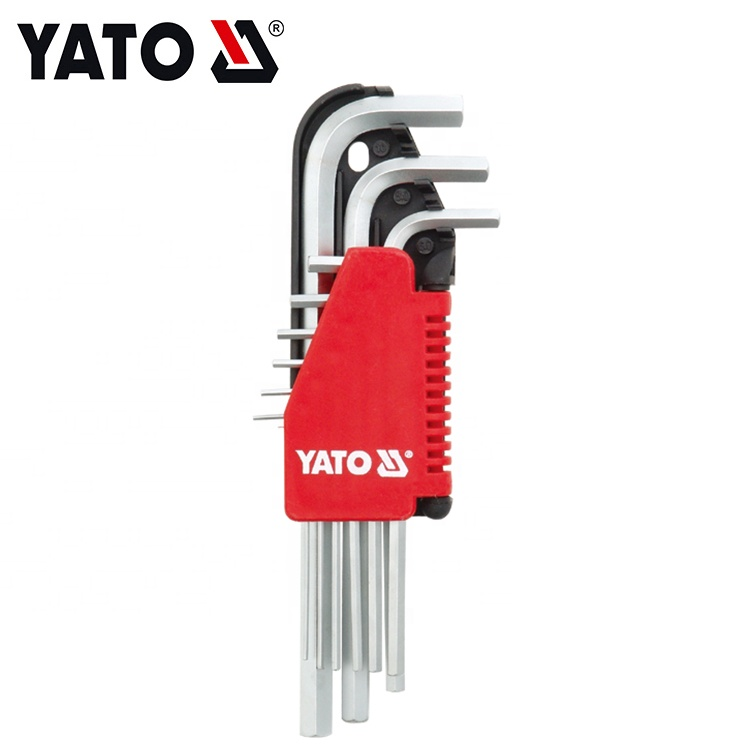 Wholesale Stainless Steel Key Wrench Set Ball Point Hex Key YT-0500