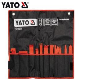 YATO 11Pcs Plastic Car Door Clip Panel Trim Removal Tools Set