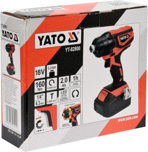 YATO 18V YT-82800 Akku-Elektrowerkzeuge Elektro-Schlagschrauber-Set