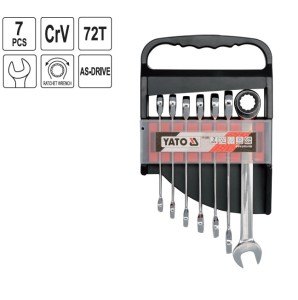 YATO COMBINATION RATCHET WRENCH SET WRENCHES SET