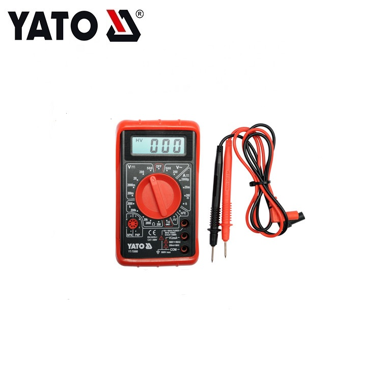 YATO INDUSTRIAL ELECTRICIAN TOOLS DIGITAL MULTIMETER YT-73080