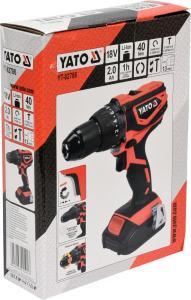 YATO POWER TOOLS 18V IMPACT DRILL DRIVER  CORDLESS DRILL  YT-YT-82786