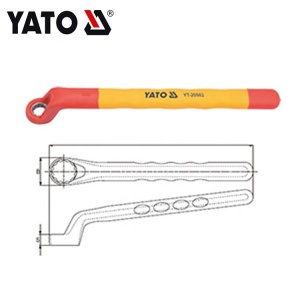 INJECTION INSULATED RING WRENCH 17MM