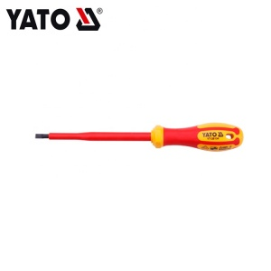 INSULATED SLOTTED SCREWDRIVER (VDE)