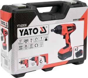 YATO YT-82930 18V HOCHWERTIGE ELEKTROWERKZEUGE ELEKTRISCHE SCHLAGSCHLÜSSEL AKKU-SCHLAGSCHLÜSSEL