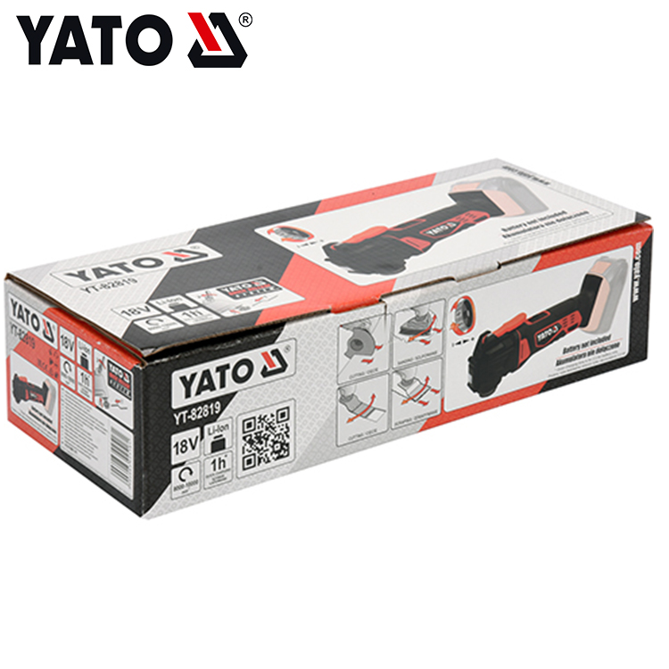 18V Cordless Multi tool N in ONE Quick blade-changing cordless Multi function tool