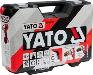 18V YATO Elektrowerkzeuge tragbare Handbohrmaschine Akku-Bohrmaschine