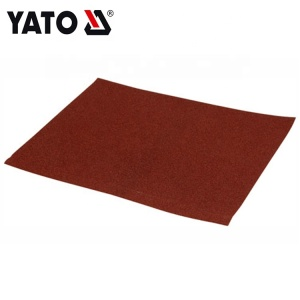YATO AUTOMOTIVE TOOLS ABRASIVE CLOTH SHEET 230X280 GRIT 100  YT-83164