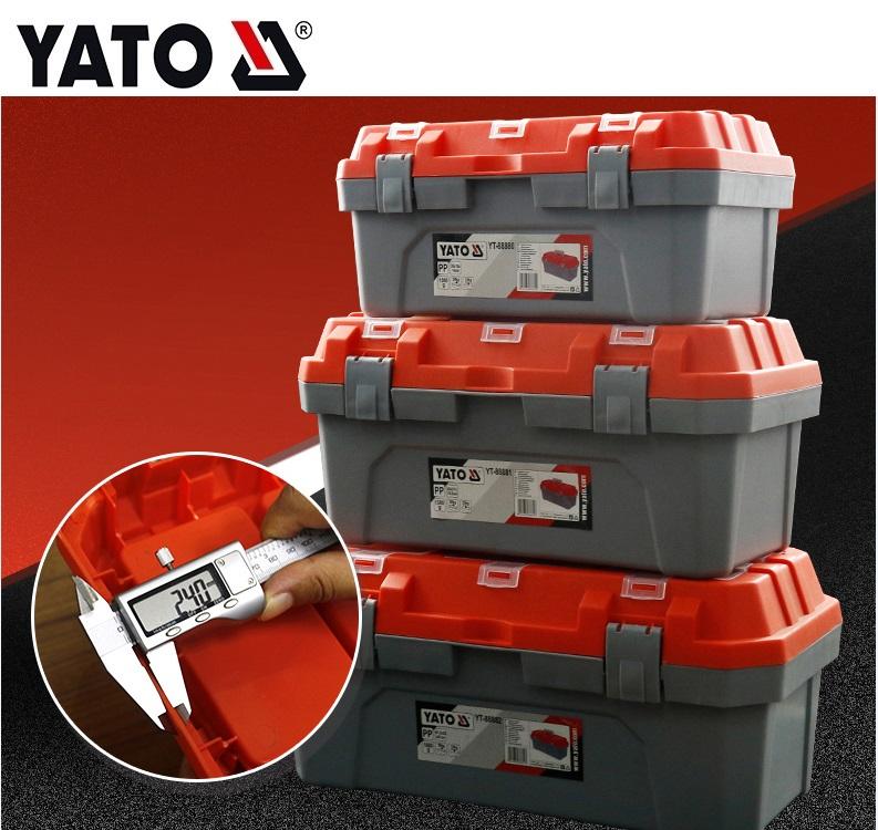 YATO plastic tool box tool case YT-88880