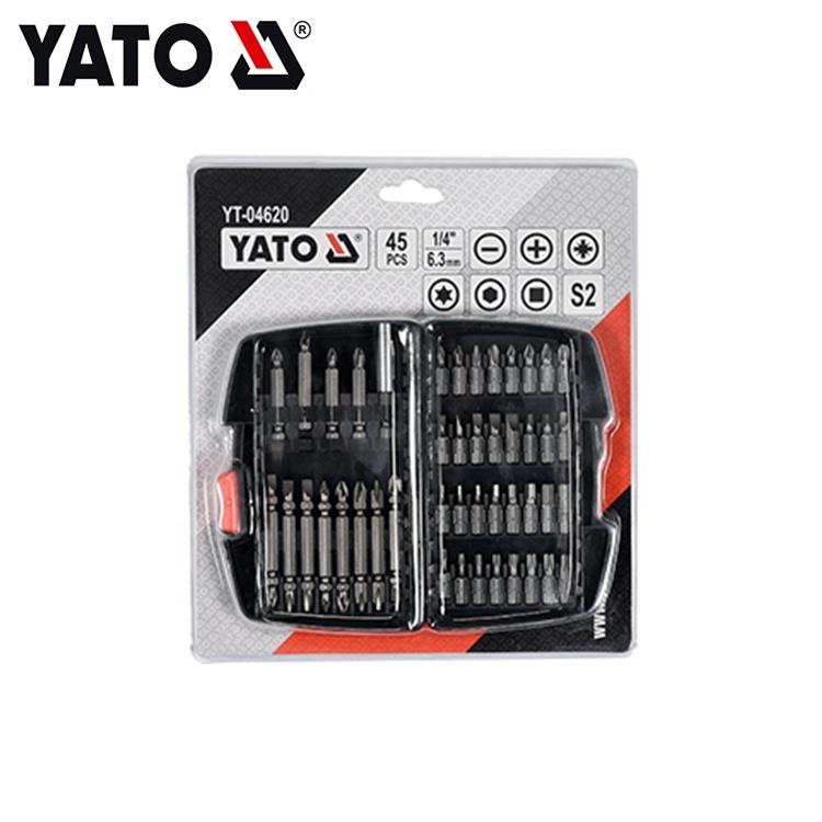 YATO 45PCS Industriequalität Präzisions-Schraubendreher-Bit-Set YT-04620