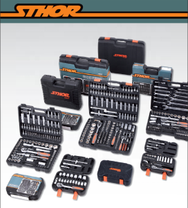 China Hand Tools Supplier Multi Functional Hand Tool Kit Socket Wrench Tool Set 19 PCS