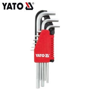 الجملة الفولاذ المقاوم للصدأ مفتاح ربط مجموعة الكرة نقطة سداسية مفتاح ياتو YT-0500