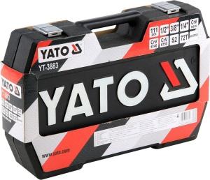 YATO Torx Socket Set 111Pcs Socket Wrench Tool مجموعة أدوات مفك براغي موفرة للعمالة