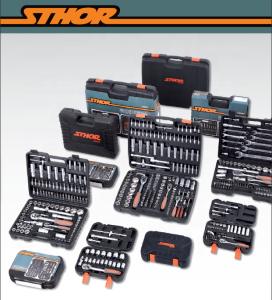 YATO Wholesale Car Repair Vehicle Maintenance General Hand Socket Wrench Tool Set 1/4