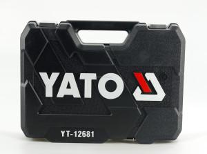 YATO Wholesale High Grade Auto Repair 94Pcs Socket Tool Set YT-12681