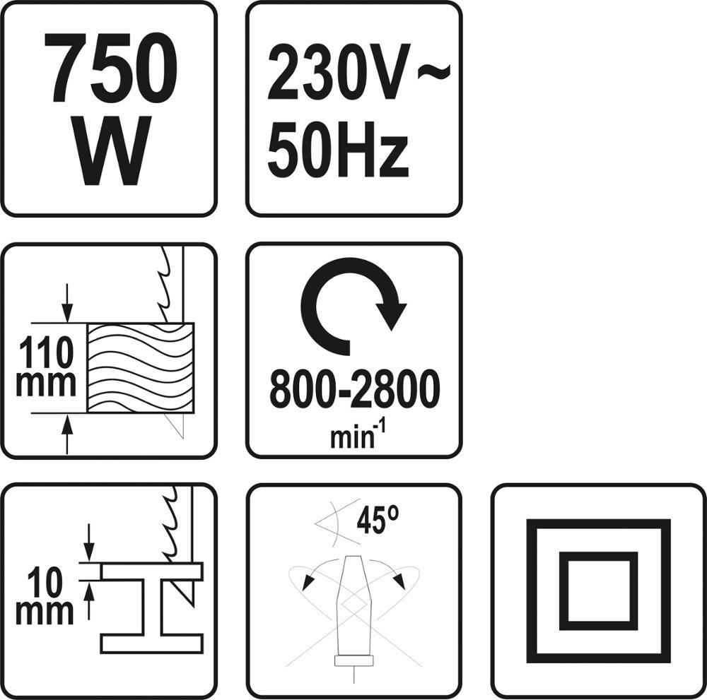 750W 110MM POWER TOOLS JIG SAW MACHINE