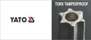 9PCS  T10 - T50 CR-V High quality TORX KEY  MEDIUM LENGTH YATO YT-0511