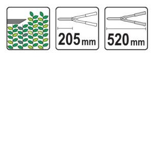 ہیج ٹرائمر 200 ایکس 4.0 ملی میٹر ، 510 ملی میٹر یاتو وائی ٹی 8821