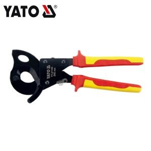 INJEKTION ISOLIERTE RATSCHE KABELSCHNEIDZANGE 240MM YATO YT-21180