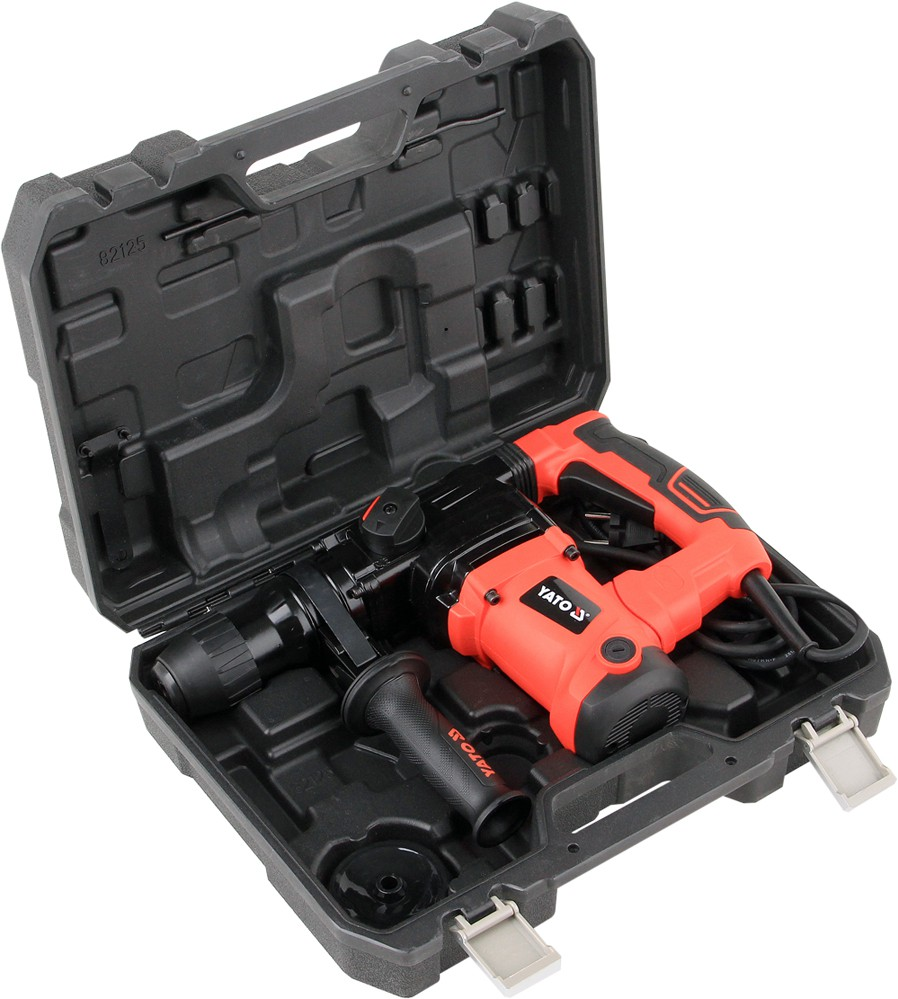 YATO POWER TOOLS ELECTRIC PORTABLE  1250 W ROTARY HAMMER YT-82125