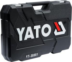 YATO TOOL SET WRENCH SOCKET SET 129PCS YT-38881