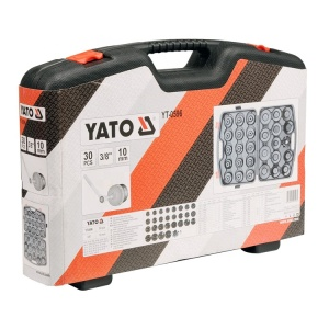 YATO YT-0596 AUTOMOTIVE TOOLS CUP TAP OIL FILTER WRENCH SET 30PCS