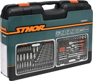 1/2 216PCS Auto Repair Hand Tools Tool Set Screwdriver Tool Box Set Professional