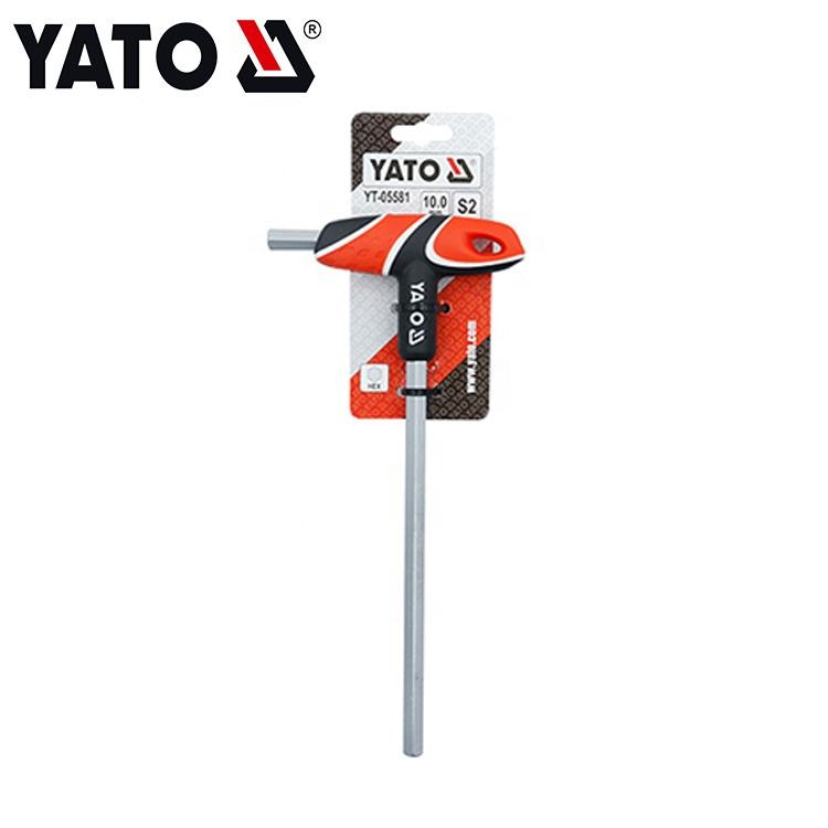 HIGH STRENGTH T HANDLE HEX KEY YATO TOOL YT-05581