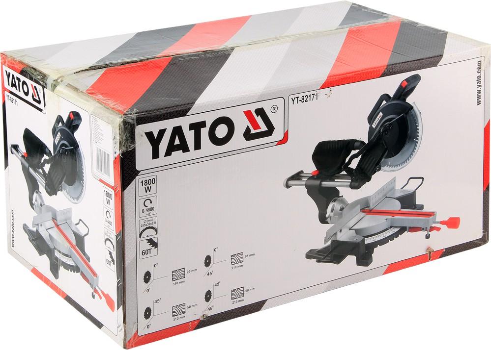 MITER SAW 1800W 255MM YATO CUTTING MACHINE YT-82171 WOOD CUTTING