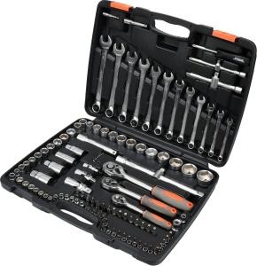 Multi-Function Auto Repair Hand Household Socket Car Tool Set 111 PCS Suite