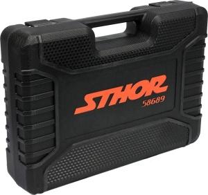 YATO Auto Repair Hand Tools Tool Set 1/2 82 Pcs Socket Hold-All Wrench Set