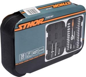 YATO Steam Protection Auto Repair China Tool Box Set Car Tool Kit Set Bag 1/4