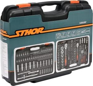 YATO Vehicle Toolbox Professional Auto Repair Hand Hardware Tools Tool Box Set 1/2