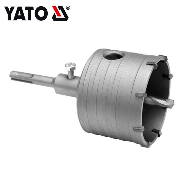 YATO YT-4403 HOLLOW DRILL SET 80MM SDS SHANK INDUSTRIAL POWER TOOL ACCESSORIES